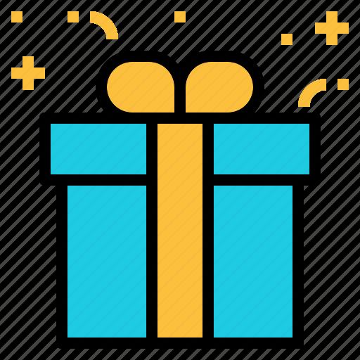 Birthday, gift, present, retail icon - Download on Iconfinder