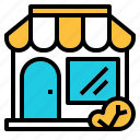 building, market, retail, shop, store icon