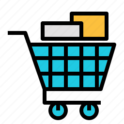add, buy, cart, online, product, retail, shopping icon
