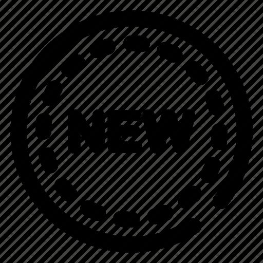 badge, label, new, shop, sticker, tag icon