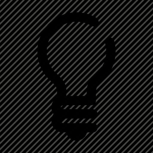 bulb, creativity, idea, inspiration, light icon