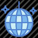 ball, club, dance, disco, party icon