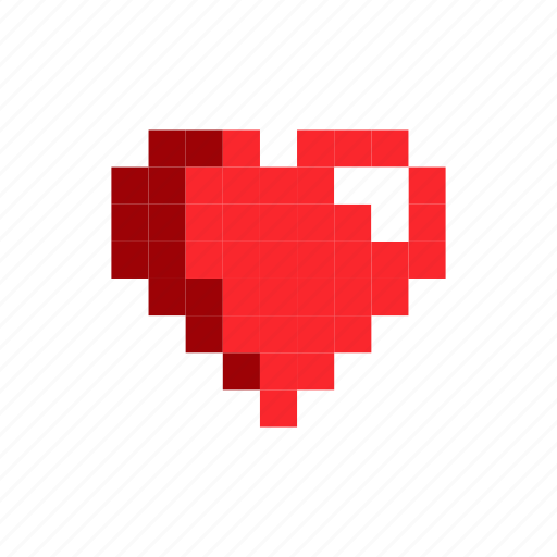 Health, Heart, Life, Red Icon