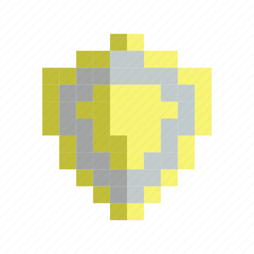 defense, gold, hero, protect, shield, weapon icon