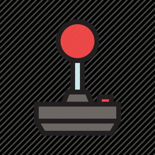 colored, game, games, joystick, retro, vintage icon