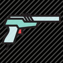 colored, games, gun, nes, nintendo, retro, zapper icon