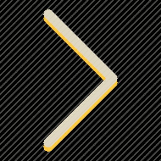 arrow, move, navigation, right icon