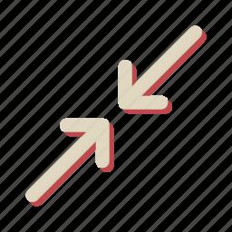 arrow, direction, navigation, slide icon