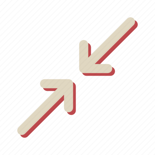 arrow, direction, navigation, slide icon