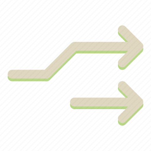 arrow, navigation icon