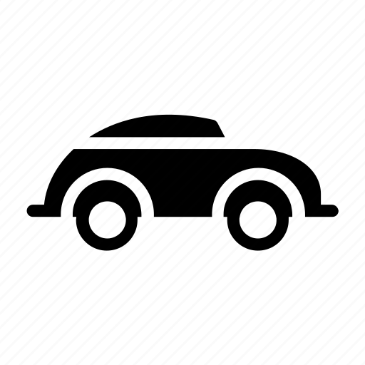 automobile, beetle, car, classic, retro, vintage icon