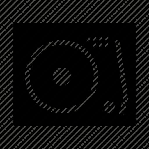 dj, music, player, record, retro, vinyl icon
