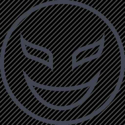 libre, lucha, mask, smile icon
