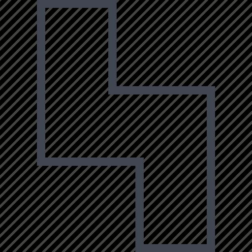block, gaming, retro, tetris icon
