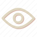 eye, look, search, vision icon