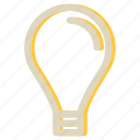 bulb, idea, lamp, light, seo icon