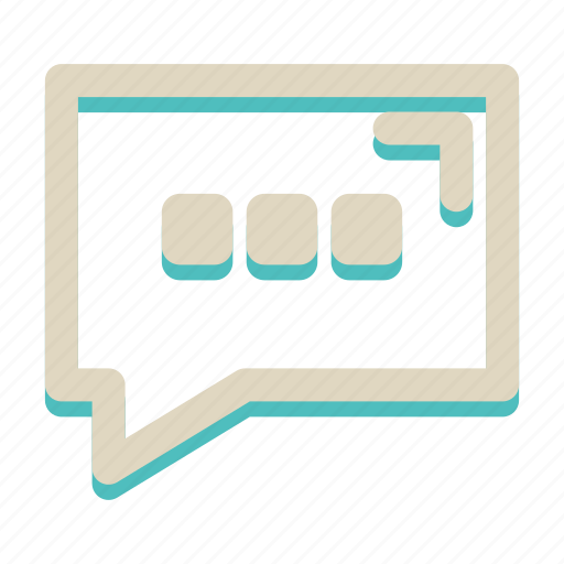bubble, chat, communication, message, write icon