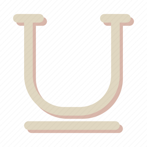 design, edit, underline icon