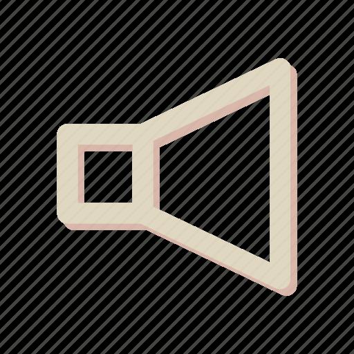 audio, sign, sound, speaker, volume icon