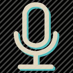 audio, mecrophone, sound icon