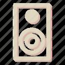 bullhorn, loudspeaker, megaphone, sound icon