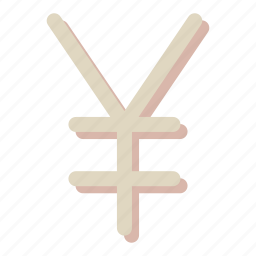 cash, coin, cold yen, currency, finance, japan, money icon