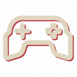 console, controller, gamepad, joystick icon