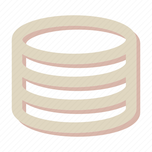 database, hosting, network, seo, storage icon