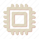 chip, computer, cpu, memory, microchip, processor icon