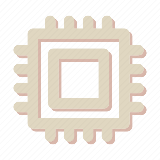 chip, computer, cpu, memory, microchip, processor icon