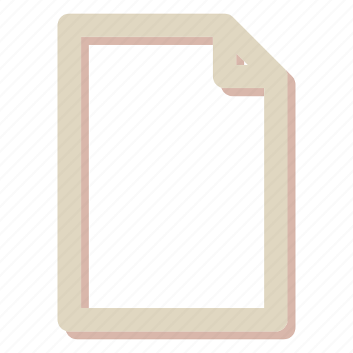 document, extension, file icon
