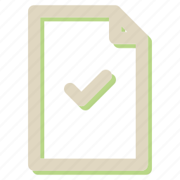 approve, document, extension, file, format, ok, seo icon