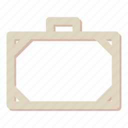 briefcase, business, seo, suitcase icon