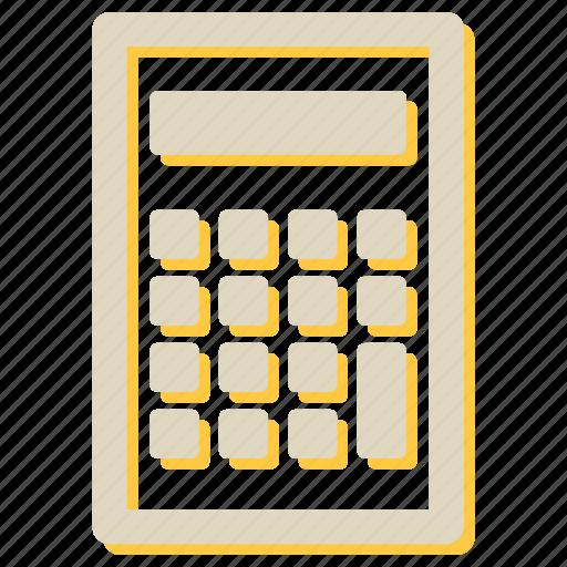 accounting, calculation, calculator, math, seo icon
