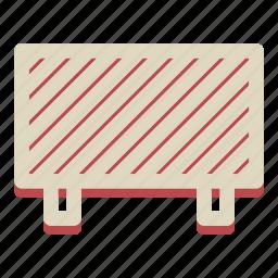 barrier, forbidden, resticted, restricted, under construction icon