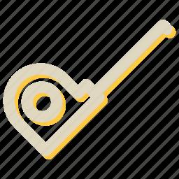 carpentry, measure, measurement, measuring device, tool icon
