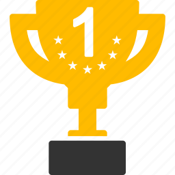 award, first prize, gold cup, success, trophy, win, winner icon