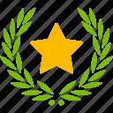 glory, achievement, victory icon