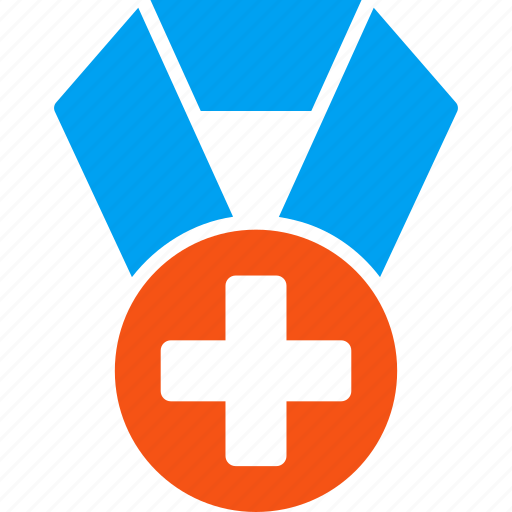 doctor medal, health, healthcare badge, hospital winner, medical award, medicine, success icon
