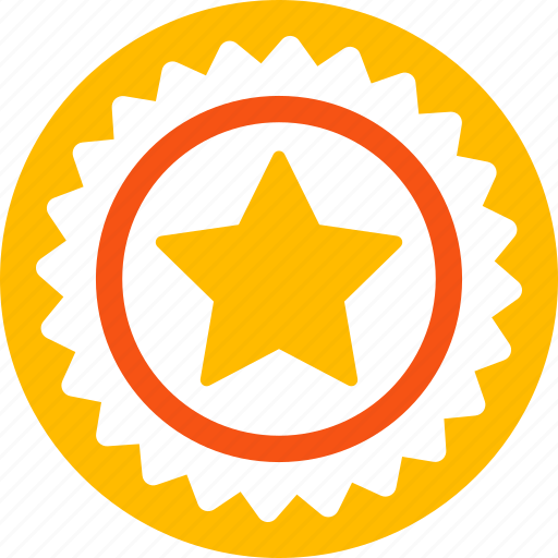 achievement, award, best, guarantee, quality, stamp, star icon