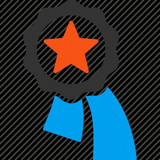 achievement seal, award, badge, best, red star, stamp, winner icon