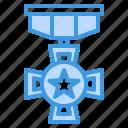 medal, honors, reward, badge, award