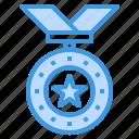 medal, reward, badge, award, honors