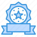 medal, reward, badge, star, award