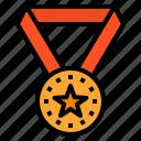 medal, reward, badge, award, success