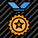 medal, reward, badge, award, winning