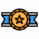 medal, reward, badge, honors, award