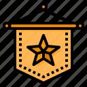 medal, reward, honors, badge, award