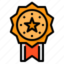 medal, reward, success, badge, award