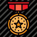 medal, reward, winner, badge, award